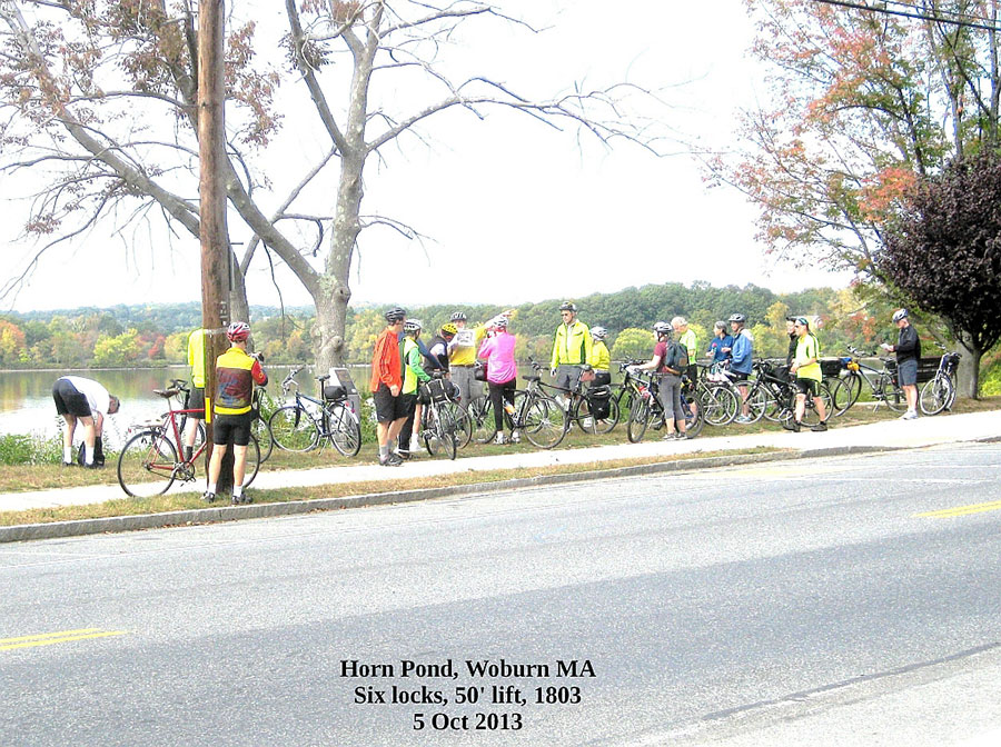 Riders at Horn Pond - Oct 2013